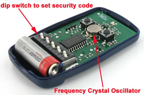 remote control για γκαραζοπορτες