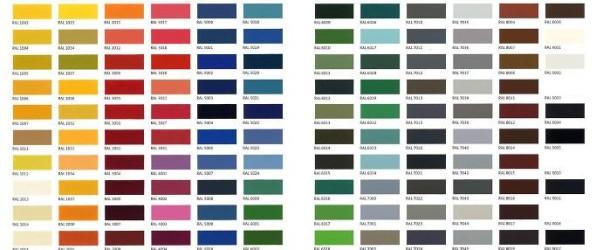 χρώματα ral